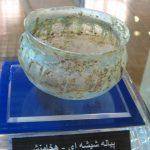 پیاله شیشه ای- موزه آذربایجان تبریز