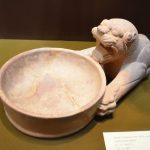 ظرف سنگی به شکل شیر-سده 5و4 پ م – موزه رضا عباسی