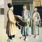 عمو صادق شیرازی. رنگ و روغن. سال ۱۳۰۸ هجری قمری - موزه کاخ گلستان تهران